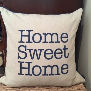 Other - Home Sweet Home Decorative Pillow